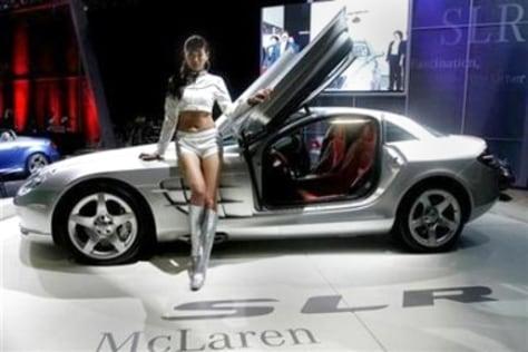 Korean auto show model