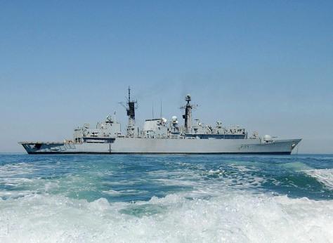 IMAGE: HMS Cornwall