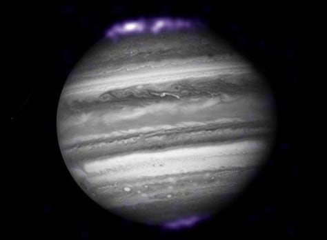 Image: Jupiter aurora