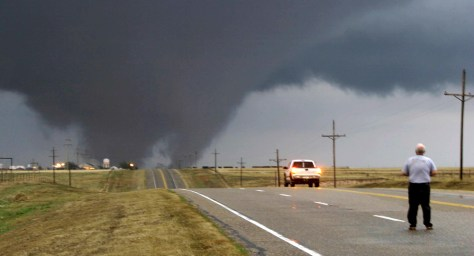 Image: Tornado in Okla.