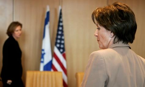 Image: Pelosi, Israeli foreign minister