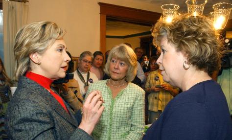 Hillary Clinton, Christie Vilsack, Debbie Batey