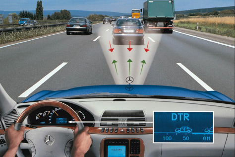 Mercedes-Benz's Distronic system
