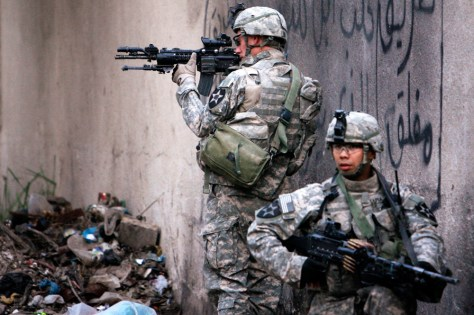 Images: Troops in Iraq