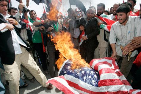 IMAGE: Shiite protest in Najaf