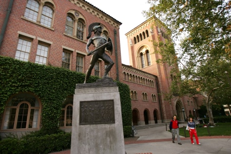Image: University of Southern California campus