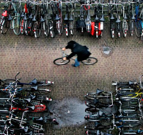 Image: Amsterdam bikes