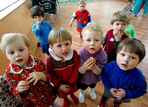 Image: Russian orphans