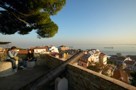 Image: View from Castelo de Sao Jorge