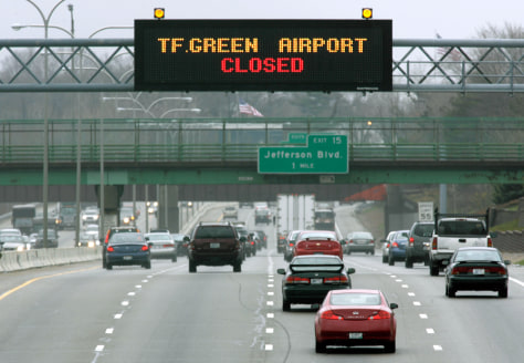 Image: Closed airport
