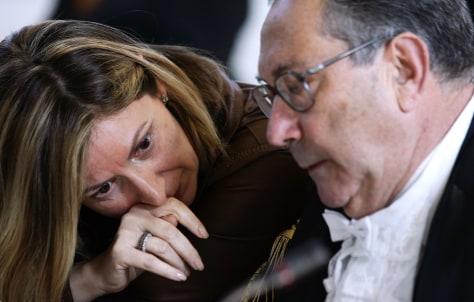 IMAGE: Nicola Calipari's widow Rosa