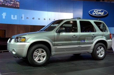 Image: Ford Escape Hybrid E85