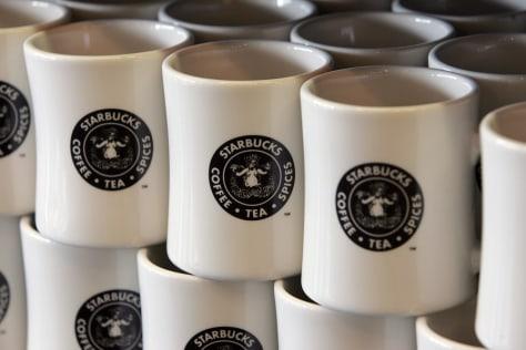 Image: Starbucks mugs