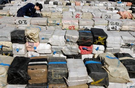 Image: Huge cocaine haul