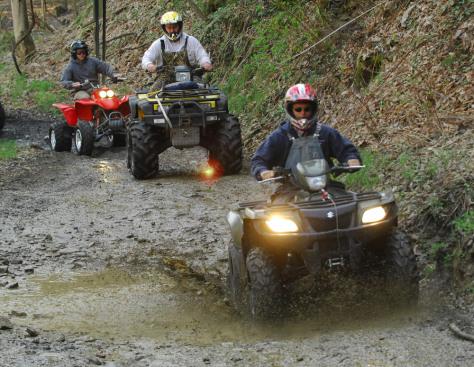 Image: ATV riding