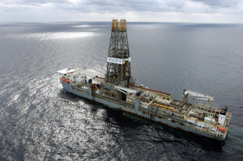 IMAGE: Drilling ship in Gulf of Mexico