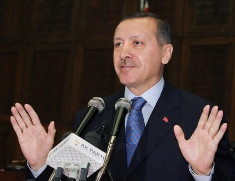 IMAGE: Turkish PM Erdogan