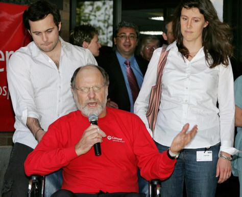 Image: Jeff Corzine, Jon S. Corzine, Jennifer Corzine