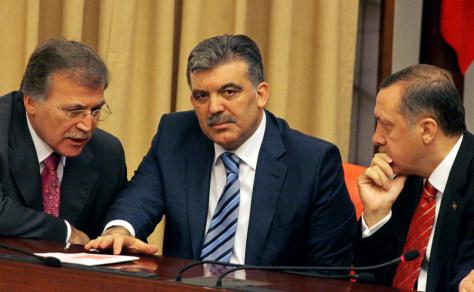 Recep Tayyip Erdogan, Abdullah Gul, Mehmet Ali Sahin