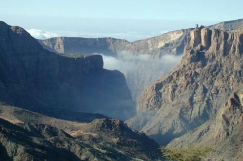 Image: Jabal Akhdar mountains
