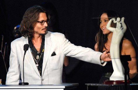 Johnny Depp, Jennifer Lopez
