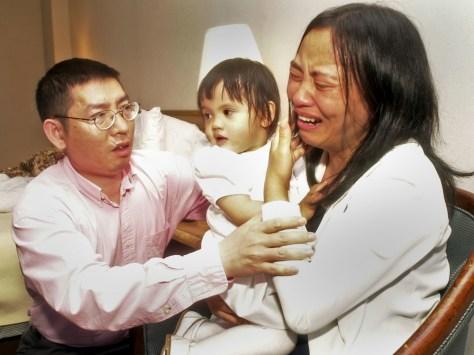 Image: He parents