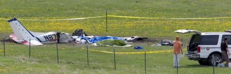 Image: Plane wreckage