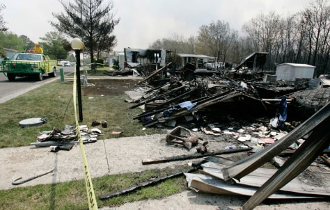 IMAGE: DESTROYED HOMES