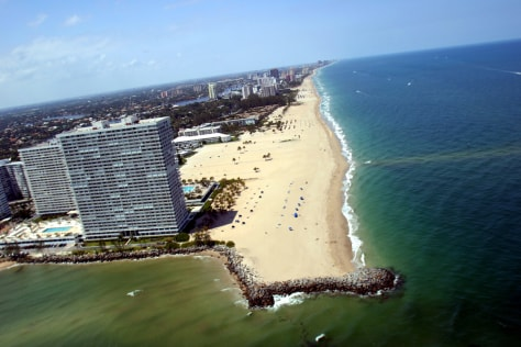 Image: Fort Lauderdale seen by air