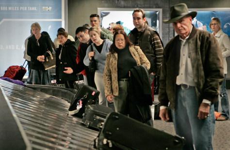 Image: Baggage claim