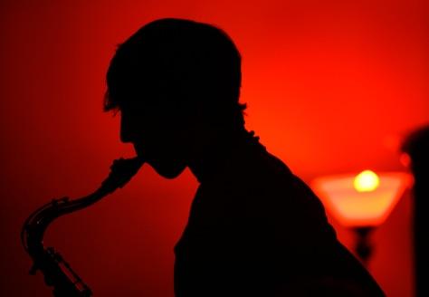 Image: Saxophone musician