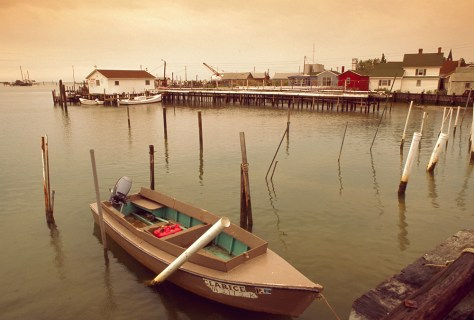 Image: Fishing boat on Tangier Island