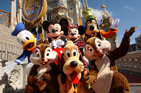 Image: Mickey and friends