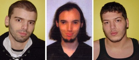IMAGE: Three fugitive terrorist suspects