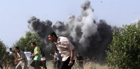 IMAGE: Israeli airstrikein Gaza