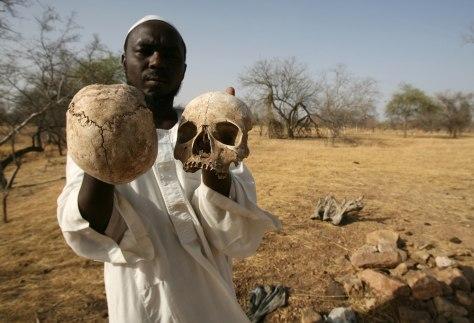 Image: A Sudanese Darfur survivor