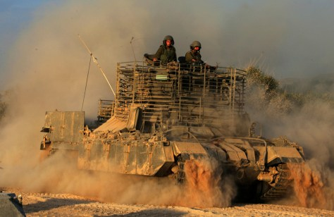 IMAGE: Israeli troops in Gaza Strip