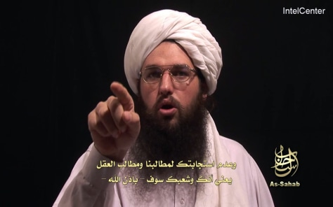 IMAGE: Al-Qaida video warning to U.S.