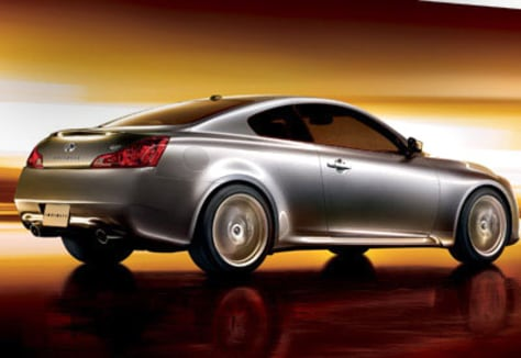 Image: The Infiniti G37 Coupe