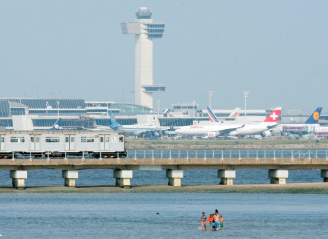 IMAGE: JFK airport in New York City