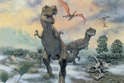 Image: Tyrannosaurus rex adults
