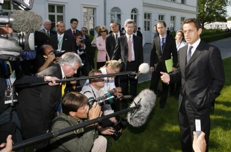 IMAGE: French President Nicolas Sarkozy