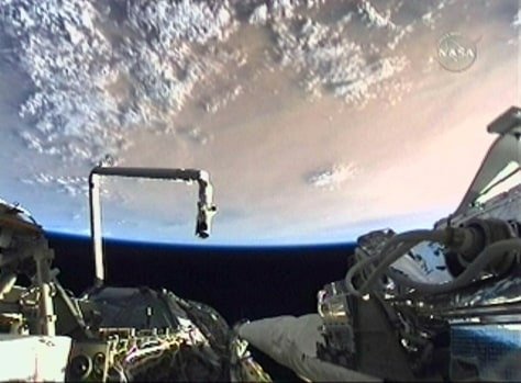 Image: View from shuttle