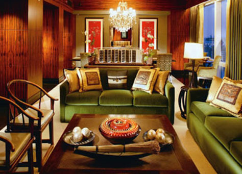 Image: Presidential Suite at the Mandarin Oriental