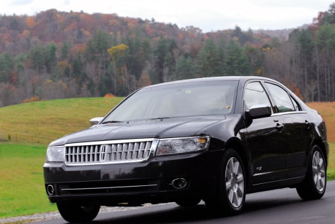 Image: Ford's 2007 Lincoln MKZ