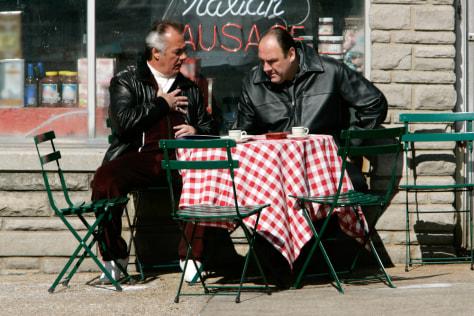 Image: Tony Soprano, Paulie Walnuts