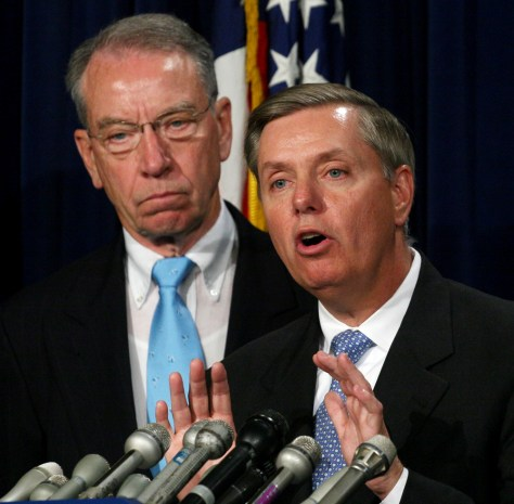 Image: Grassley and Graham