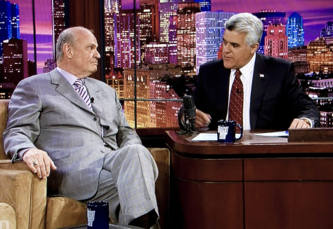 Image: Fred Thompson with Jay Leno.