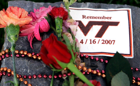 IMAGE: VIRGINIA TECH MEMORIAL