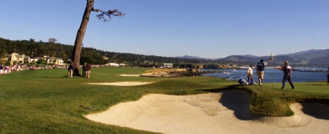 Image: Pebble Beach golf course
